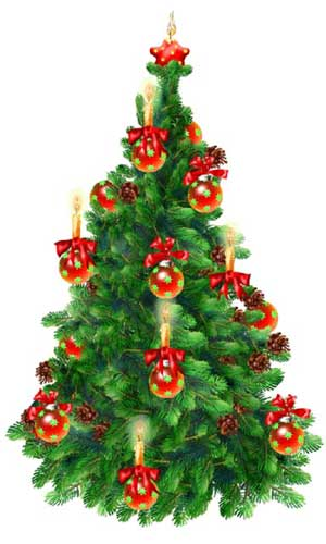 What does the christmas tree symbolize