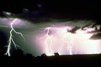 Dream symbolism of lightning